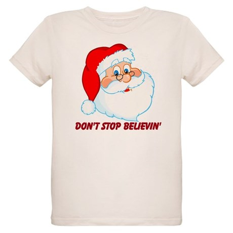 Don't Stop Believin' Organic Kids T-Shirt