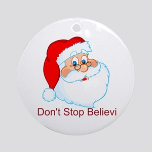 Don't Stop Believin' Ornament (Round)