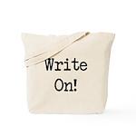 Write On Tote Bag