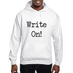 Write On Hooded Sweatshirt