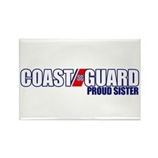 USCG Sister Rectangle Magnet