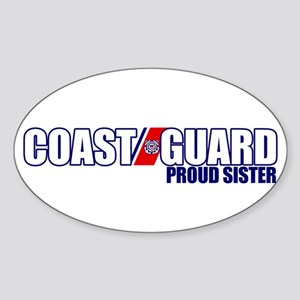 USCG Sister Sticker (Oval)