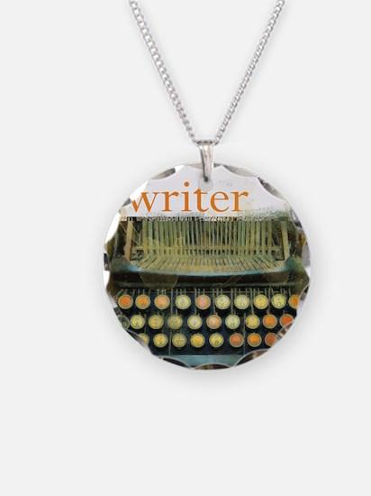 typewriter writer Necklace