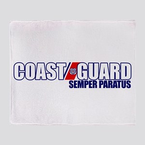 Semper Paratus Throw Blanket