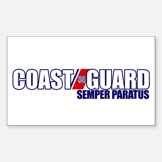 Semper Paratus Sticker (Rectangle)