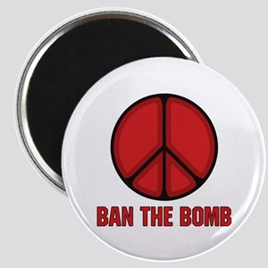 Ban the Bomb Magnet