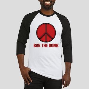 Ban the Bomb Baseball Jersey