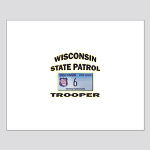Wisconsin State Patrol Small Poster