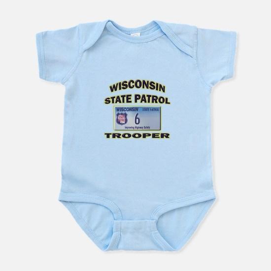 Wisconsin State Patrol Infant Bodysuit