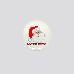 Believe in Santa Claus Mini Button