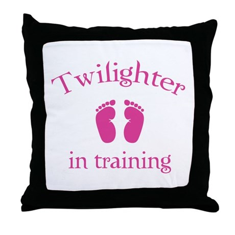 Twilighter in training Throw Pillow