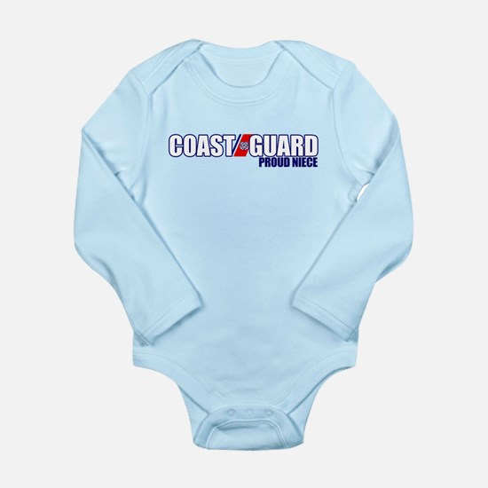 USCG Niece Long Sleeve Infant Bodysuit