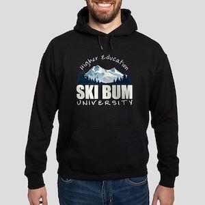 Ski Bum University Hoodie (dark)