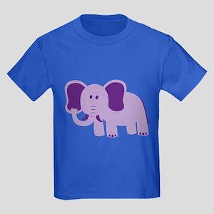 Funny Elephant Kids Dark T-Shirt