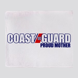 USCG Mother Throw Blanket