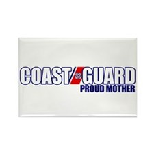 USCG Mother Rectangle Magnet