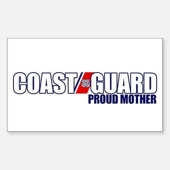 USCG Mother Sticker (Rectangle)