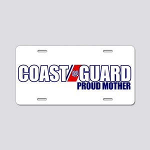USCG Mother Aluminum License Plate