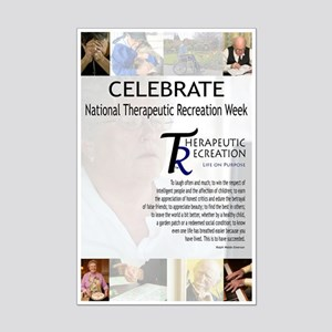 Recreation Therapy Week Mini Poster Print