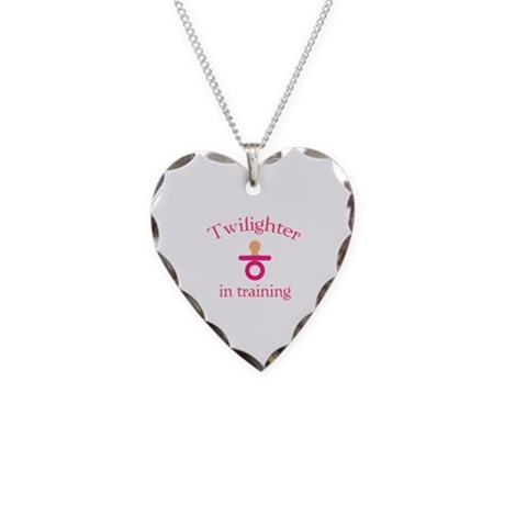 Twilighter in training Necklace Heart Charm