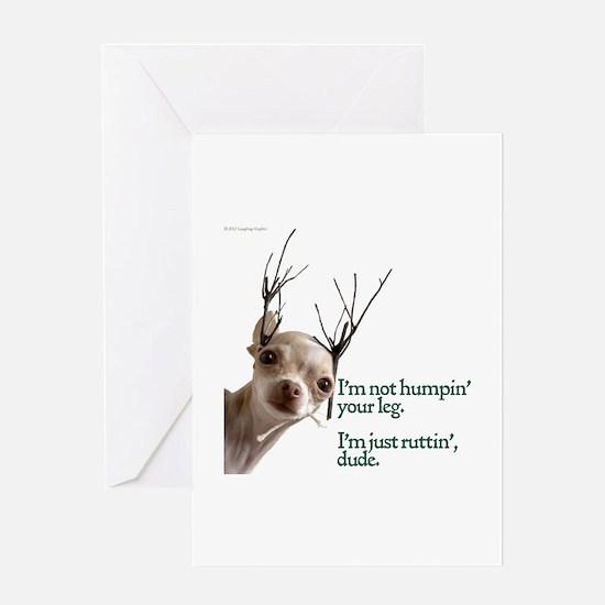 Ruttin' Greeting Card