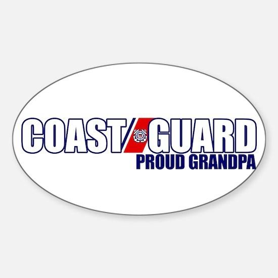 USCG Grandpa Sticker (Oval)