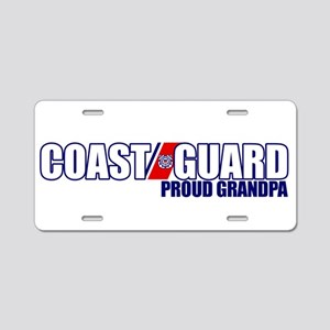 USCG Grandpa Aluminum License Plate
