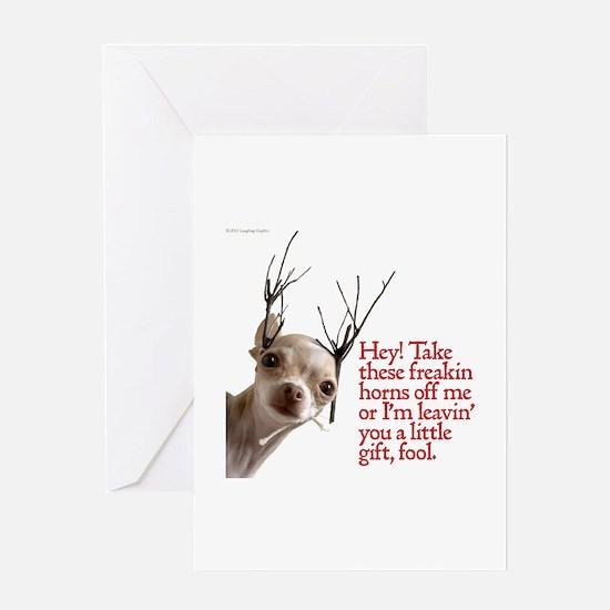 Horns Greeting Card