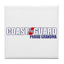 USCG Grandma Tile Coaster