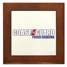 USCG Grandma Framed Tile