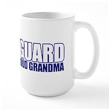 USCG Grandma Large Mug