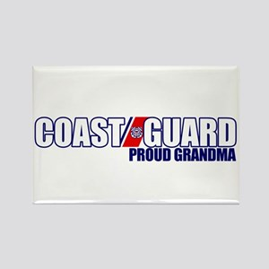 USCG Grandma Rectangle Magnet