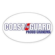 USCG Grandma Sticker (Oval)