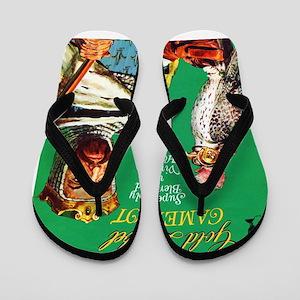Camelot Cigar Label Flip Flops