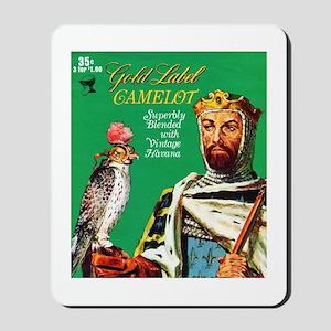 Camelot Cigar Label Mousepad