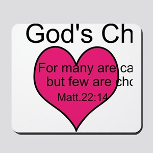 God's Chosen Mousepad