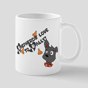 Shepherds Love to Rally Mug