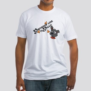 Shepherds Love to Rally Fitted T-Shirt