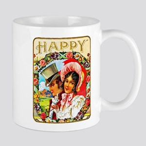 Happy Cigar Label Mug