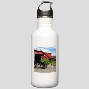 Country Scene Stainless Water Bottle 1.0L