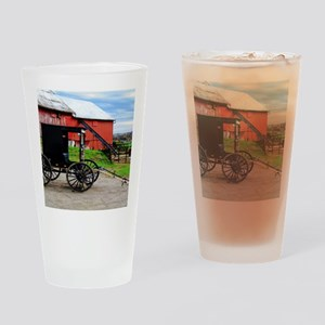 Country Scene Drinking Glass