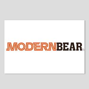 Modern Bear Logo Items! Postcards (Package of 8)