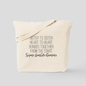 Sigma Lambda Gamma Sister Tote Bag