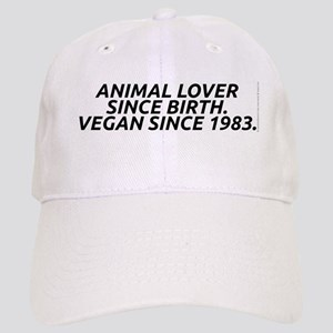 Vegan since 1983 Cap