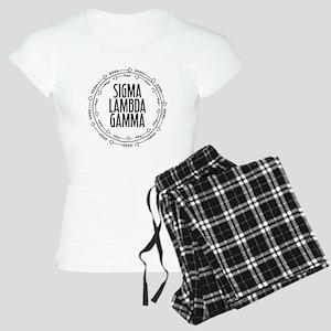 Sigma Lambda Gamma Arrows Women's Light Pajamas