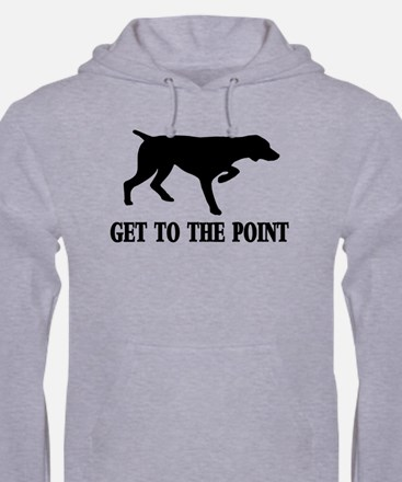 GET TO THE POINT Jumper Hoody