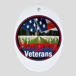 Veterans Ornament (Oval)
