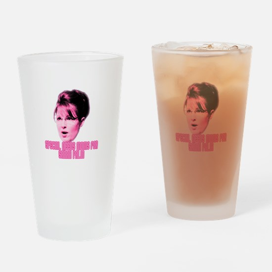 Cute Mccain palin Drinking Glass