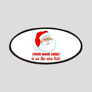 Personalized Nice List Patches