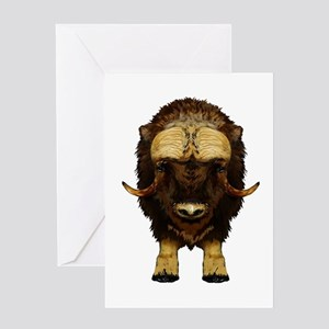 THE STARE DOWN Greeting Cards
